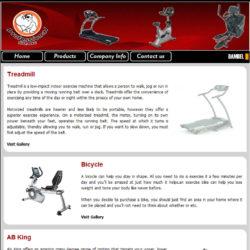 وب سایت Profitness Co